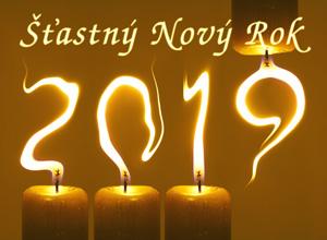 Novoročenka 2019 svíčky - 300