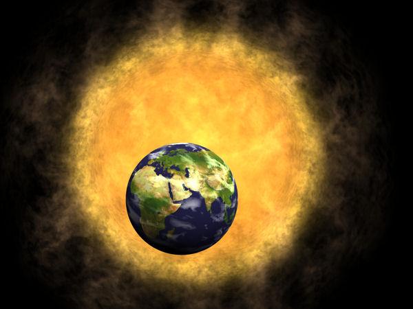 Fotobanky - Země a Slunce