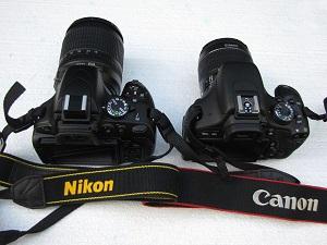 Nikon 5100 a Canon 600D titulka
