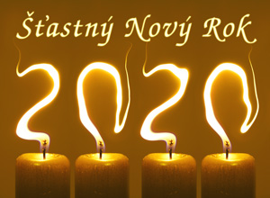 Novoročenka 2020 svíčky