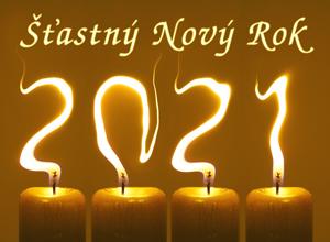 Novoročenka 2021 svíčky