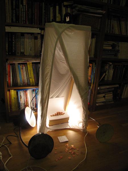Světelný stan - udělej si doma
